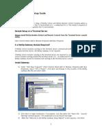 NetOp School 5.5 TS Setup Guide