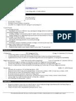 Matthew Mrozinski's Resume