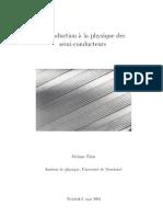 Physique Des Semi-Conducteurs -- Clan9 Livre Electronique