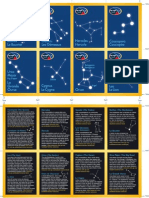 Constellation Cards Cartes
