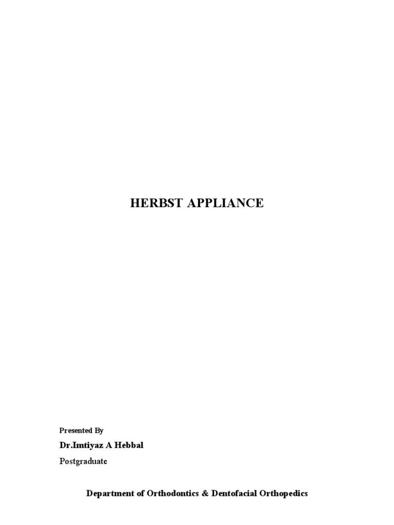 Herbst Appliance | Tooth | Dental Anatomy
