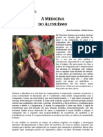 Dalai Lama - A Medicina do Altruísmo