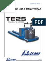 TE25 Uso Manutencao