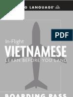 In Flight Vietnamese