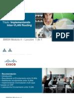 CCNP Enrutamiento Entre VLAN