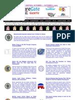 Weekend Edition - October 1 to October 5, 2012 - ForeclosureGate Gazette