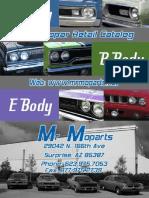 2012 Catalog Mopar Retail