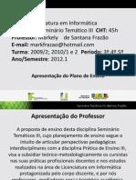 Slides Resumo Plano Ensino Web 26