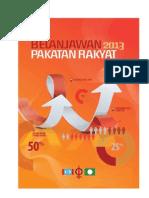 Belanjawan Pakatan Rakyat 2013 vAkhir