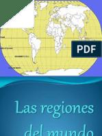 1. Las Regiones Del Mundo