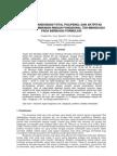 Evaluasi Kandungan Total Polifenol Dan Aktifitas Antioksidan Minuman Ringan Fungsional Teh-mengkudu Pada Berbagai Formulasi