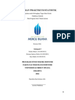 Laporan Praktikum Statistik - Teknik Industri Universitas Mercu Buana 2012
