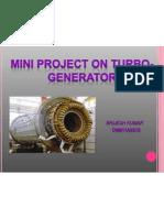 STUDY OF TURBO-GENERATORS.