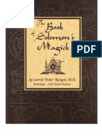 The Book of Solomon's Magick - Carroll Poke Runyon, Poke Runyon