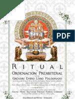 RITUAL DE ORDENACIÓN PRESBITERAL DEL DIÁC GREGORI EMIRO LOBO MALDONADO