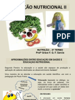 EDUCAÇÃO NUTRICIONAL II aula 2º semOK