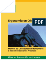 Manual de Ergonomia Oficinas