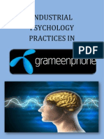 Psychological Practices in Grameenphone