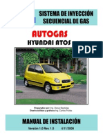 Manual Atos Autogas