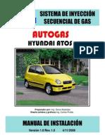 Manual Atos Autogas