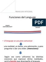 Funciones Del Lenguaje RE