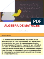 Algebra de Matrices