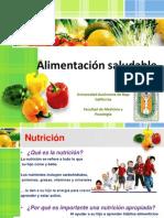 SALUD, Exposicion Alimentacion