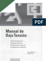 Manual de Baja Tensión - Siemens