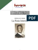 Hesse RutaInterior