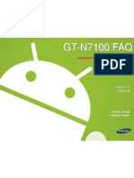 Galaxy Note 2 (GT-N7100) Jelly Bean Guide