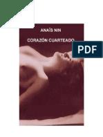 Nin, Anaïs - Corazón cuarteado