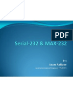 RS-232 (Serial Communication) and MAX-232