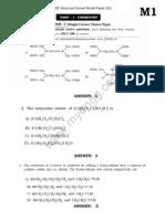 JEE Advanced Solved Model Paper 3(1)