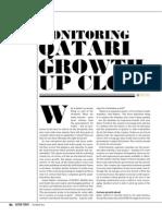 Monitoring Qatari Growth up close