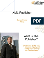 XML Publisher Tutorial