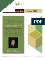 August 2012 Shareholder Letter