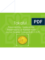 Introduction of Dawood Family Takaful Limited & Takaful