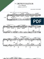 (SCORE) Poulenc - Hommage a Edith Piaf [Pf]