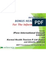 Bonus Health Plan Presentation for the People Updated 22-08-2012