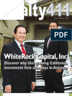 Realty 411 Part 2 - America's Favorite Investment Magazine - Featuring Whiterock Capital