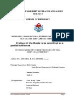 Aceclofenac Final Proposal