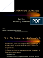 Software Architectures Ch 1-2