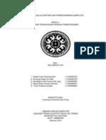 Praktikum Algoritma Dan Pemrograman Komputer Modul 1