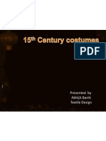 15th Century Costumes
