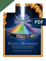 Unity in Diversity Radhamadhav Das