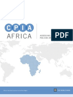 Country Policy and Institution Assessment - Africa June 2012