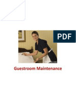 Lesson 3 Guestroom Maintenance
