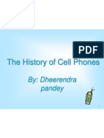 The History of Cell Phones