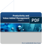 Chapter5 Productivity and VAM Practices