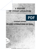 A History of Indian Literature Part of Vol VII Islamic Literatures of India - J Gonda
